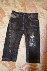 Стильные джинсы итальянского бренда ORIGINAL MARINES 1218 мес 80-86