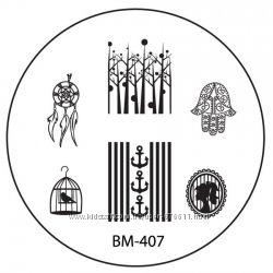 Оригинальная пластина для стемпинга BM Bundle Monster
