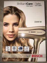 Фен BOSCH PHD 5980, ионизация, сохранение цвета волос, уход