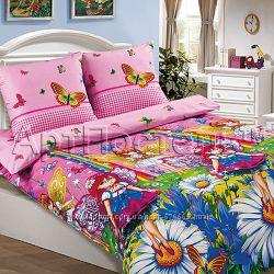 Комплекты постельного белья, детская расцветка ч. 3 поплин Комфорт-текстиль