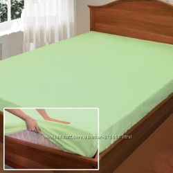 Простыни на резинке от производителя Комфорт текстиль, поплин