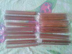Бамбуковые чулочные спицы, набор 15 шт.