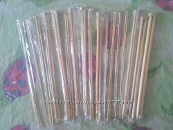бамбуковые спицы 35 см, набор 18 шт.