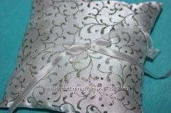 Свадебные аксессуары - узор Серебро