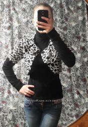комплект светр-болеро, чорного кольору