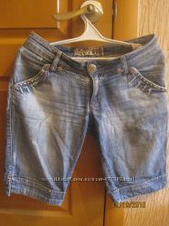 Шорты бриджи джинсовые Caspita, Турция р. 29 в отличном состоянии