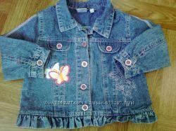Джинсовый пиджачек ветровка