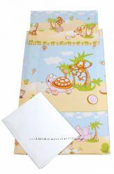 Комплект детского постельного белья Тигрес Classic Сафари 3 элемента.
