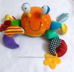 Осьминог TOLO развивающая игрушка-подвеска .