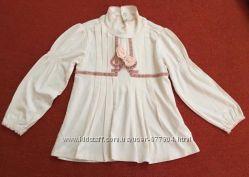Кофточка Chicco нарядная для девочки на 18 месяцев.