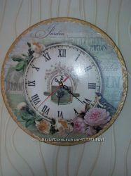 Настенные часы. Ручная работа
