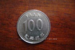 100 юаней монета.