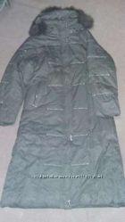Пальто зимнее, женское, длинное в отличном состоянии