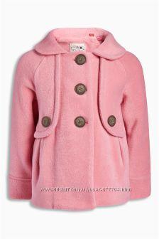 Флисовая куртка-пальто 4-5лет NEXT