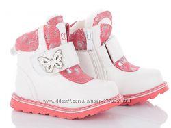 Распродажа Зимние ботинки для девочки. Зимові черевики рр. 23, 24, 25, 26,