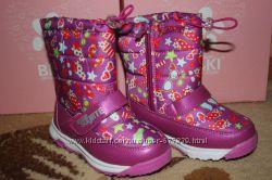 Зимние дутики bi&ki, tom. m, томм, ботинки, сапоги, на девочку рр. 27 28 29 3
