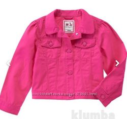 Джинсовый пиджак девочке 4, 5, 6, 7, 8 лет Gymboree