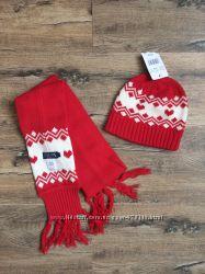 Новый набор шапка  шарф