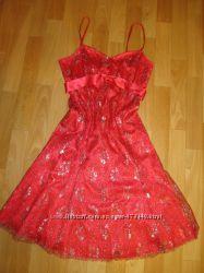 Коктейльное платье Cat Orange