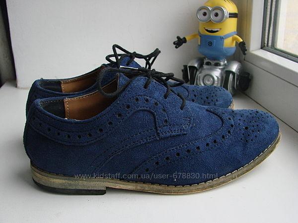 Замшевые туфли River Island - 32 р. 20.5 см