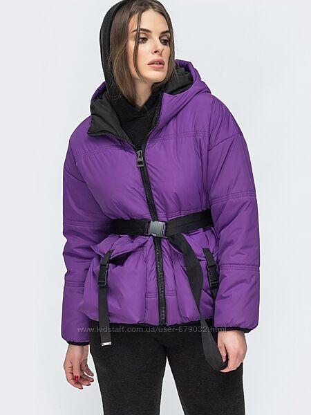 Стильная женская куртка оверсайз в ярких цветах, курточка деми