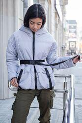 Трендовая демисезонная женская курточка, куртка овесайз