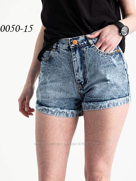 Короткие котоновые джинсовые шорты, женские летние шорты