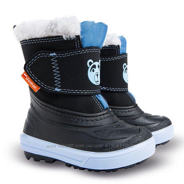 зимние сапоги-сноубутсы demar bear для детей