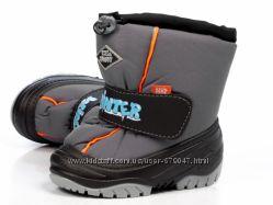 Детская зимняя обувь 20-29 размер Demar Ice Snow B серые