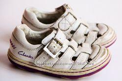 Летние туфли 21 р. 13 см Clarks на девочку из Англии
