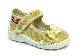 19-24 р Текстильная обувь RenBut 13-139 с кожаными стельками