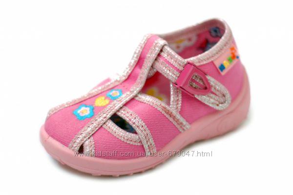 тапочки-босоножки для девочек Nazo