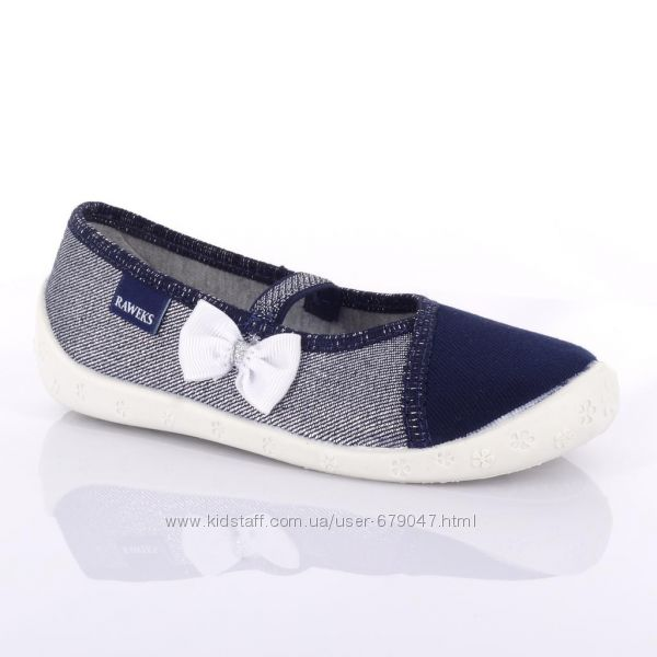 Текстильная обувь Raweks с кожаными стельками