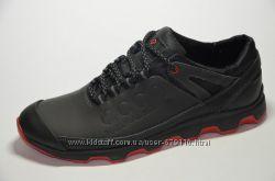 Мужские кожаные кроссовки Ecco. Разные цвета.