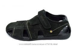 Сандали Мужские Multi Shoes Polo Nubuk Black