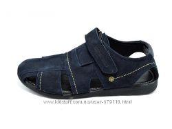 Сандали Мужские Multi Shoes Polo Nubuk Blue