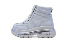 Ботинки  женские зимние Abbi 3277 NE White