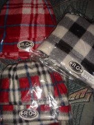 Комплект флис шапочка и шарф размер школьник-подросток-взрослый