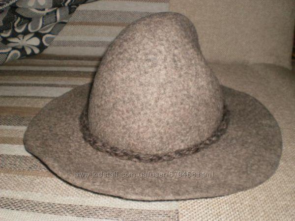 Женская фетровая шляпа