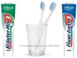 Немецкие зубные пасты Elkos 125 мл