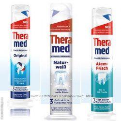 Зубная паста Theramed Германия с дозатором 100 мл