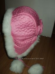 продам новую красивую шапку-ушанку на девочку