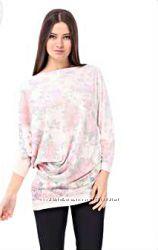 Туника  Rinascimento нежно розовая цветы