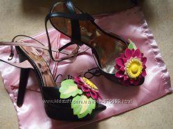босоножки Lolita Botti 39 кожа цветок