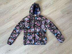 Куртка Rinascimento м-L двусторонняя цветы силиконизированный синтепон