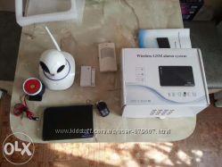 GSM сигнализация  wifi IPcamera