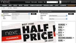 Акция выкуп Next sale под 8