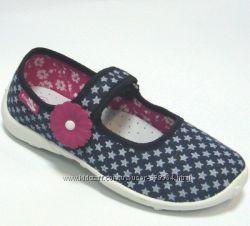 Польське текстильне взуття Ренбут для дівчинки