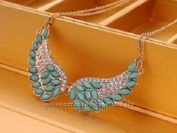 Ожерелье подвеска крылья
