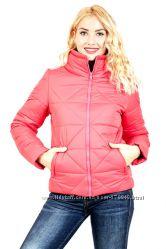 Молодежная женская куртка Ромб